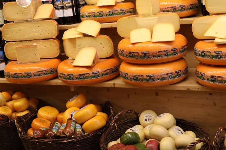 Käse aus Alkmaar