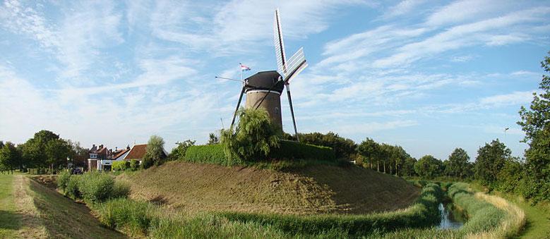 Windmühle von Brouwershaven, Zeeland