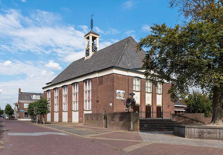 Dorfkirche in Bruinisse, Zeeland