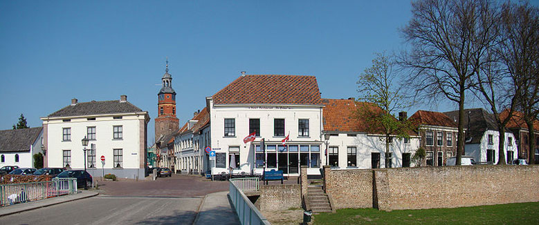 Stadt Buren in Gelderland, Niederlande