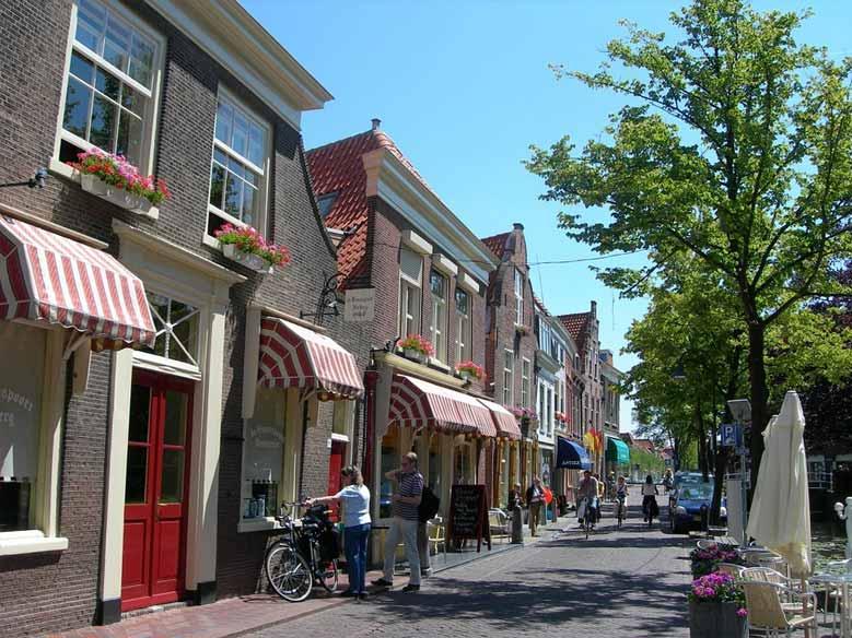 typische Architektur in Delft