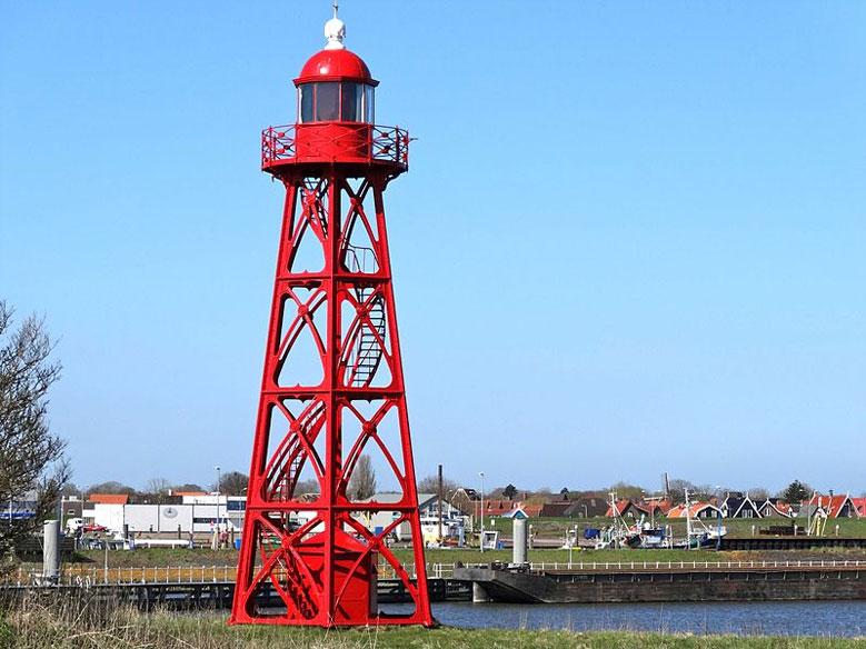 Leuchtturm von Den Oever, Nordholland