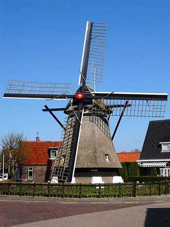 Urlaub in Den Oever, Nordholland