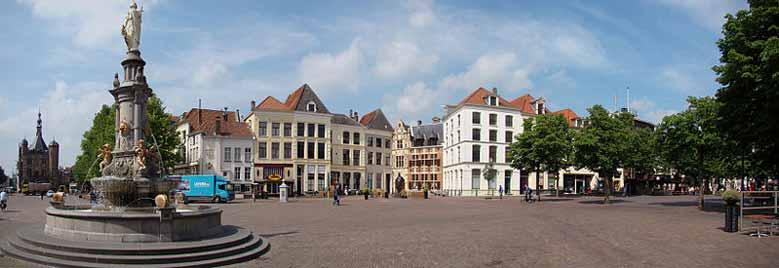 Marktplatz in Deventer