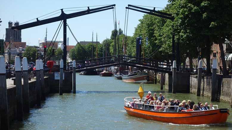 Bootsausflug in Dordrecht
