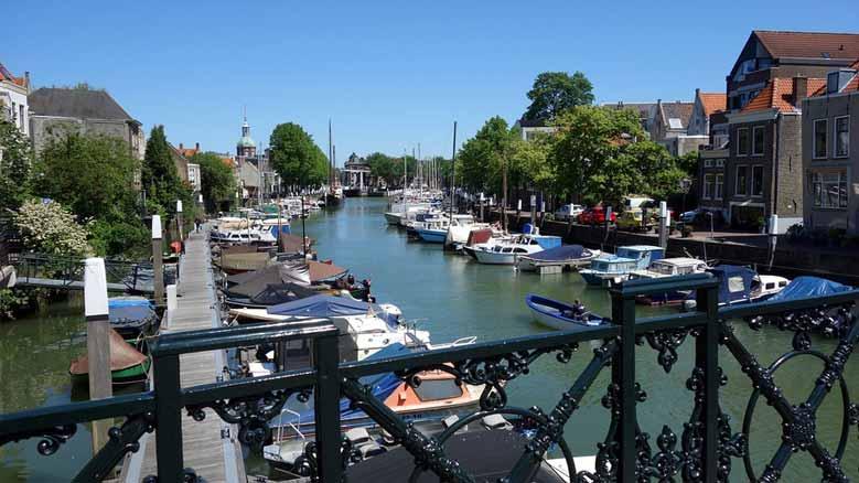 Hafen in Dordrecht