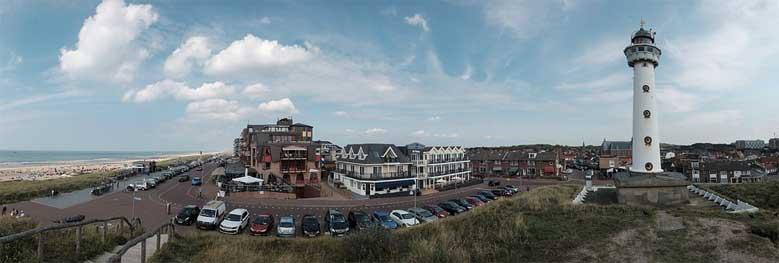 Der Leuchtturm von Egmond aan Zee