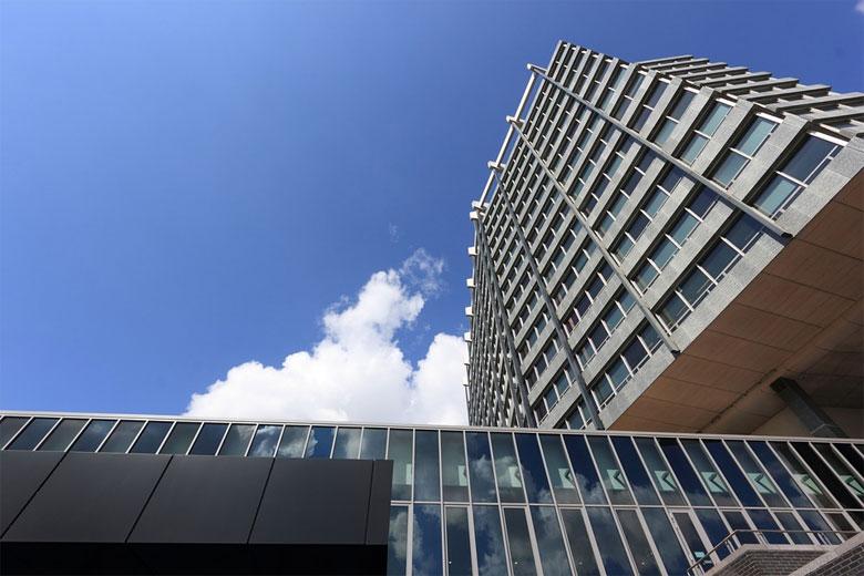 Das Philips Bürogebäude in Eindhoven-Zentrum