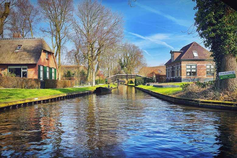 Bootsfahrt in Giethoorn