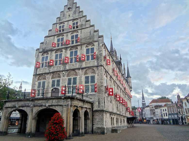 Rathaus im Zentrum von Gouda