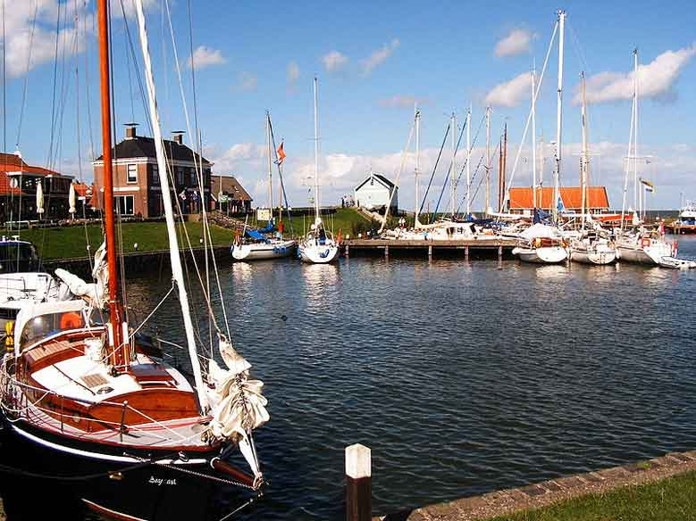 Hafen in Hindeloopen