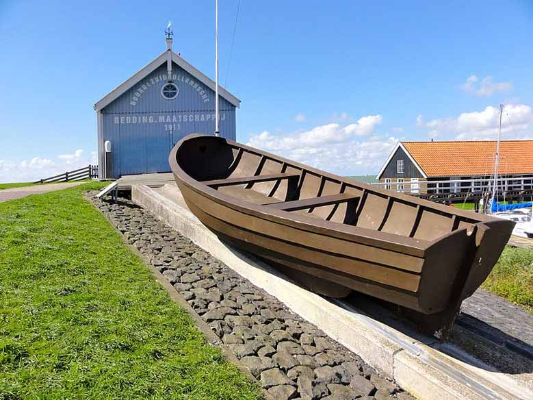 Rettungsboot in Hindeloopen