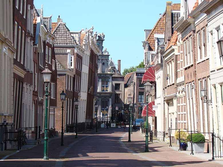 Stadtzentrum von Hoorn