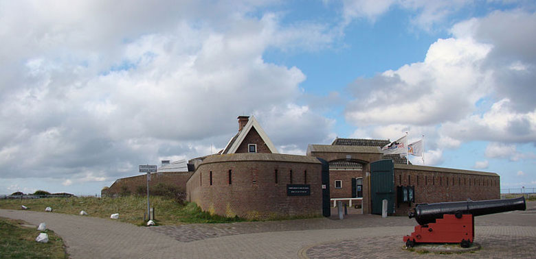 Fort Kijkduin in Julianadorp, Nordholland