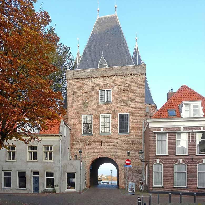 Das alte Stadttor Koornmarktspoort