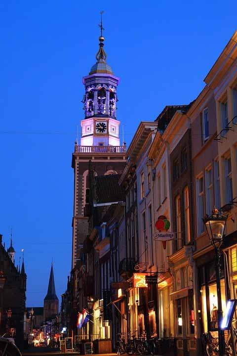 Zentrum von Kampen