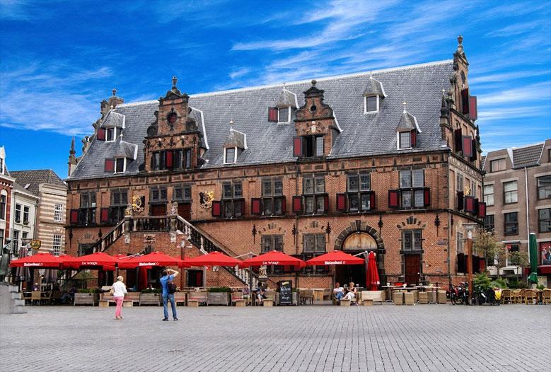 Marktplatz in Nijmegen, Gelderland