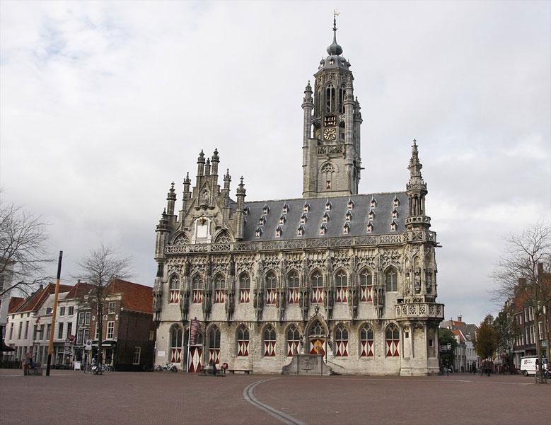 Rathaus von Middelburg, Zeeland
