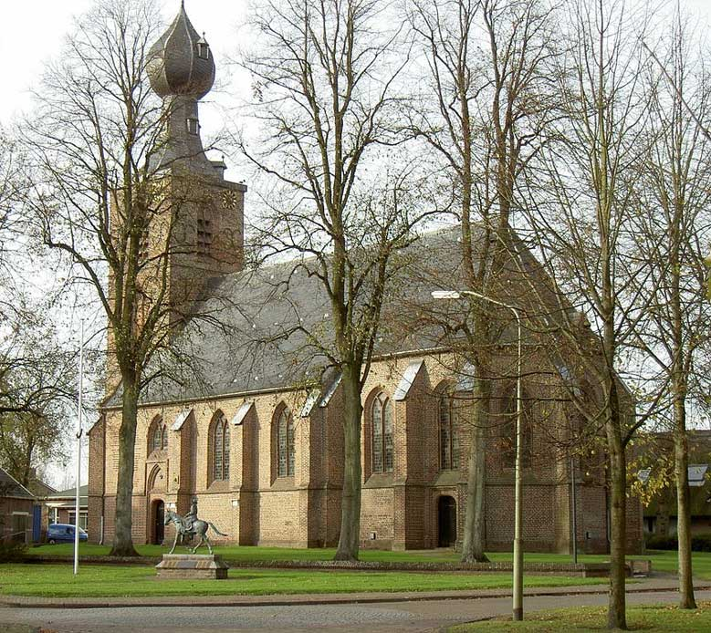 St. Nicolaaskerk in Dwingeloo, Holland