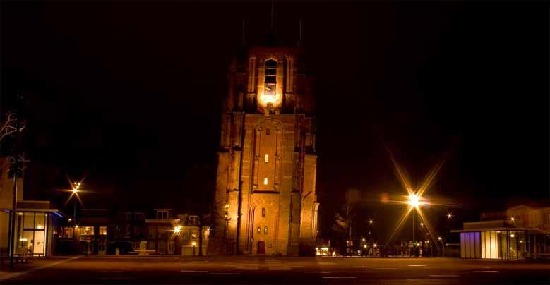 Oldehove, der schiefe Turm von Leeuwarden