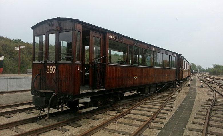 Eisenbahnmuseum in Ouddorp, Südholland