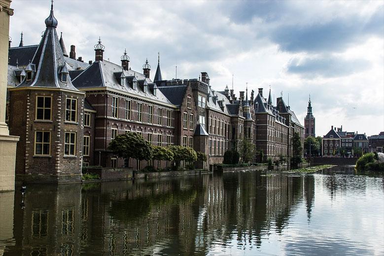 Parlamentsgebäude in Den Haag
