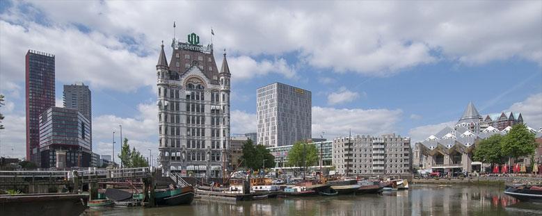 Weißes Haus und Cube-Houses, Rotterdam