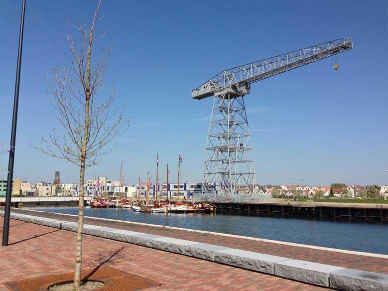 Schelde-Viertel im  Hafen von Vlissingen