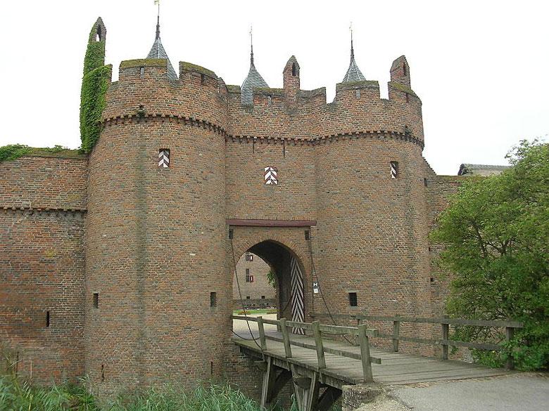 Schloss Doornenburg in Gelderland, Niederlande