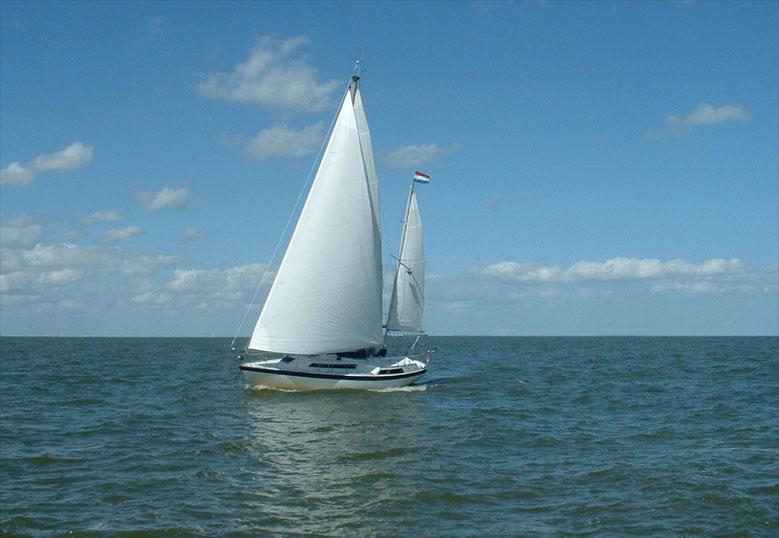 Segeltörn mit einer Charteryacht in den Niederlanden
