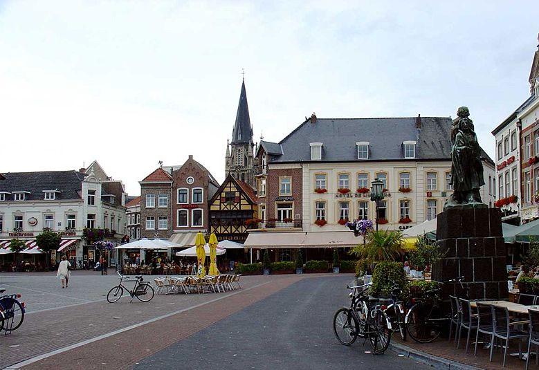 Marktplatz Sittard, Limburg