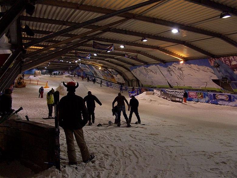 Skihallen in Holland