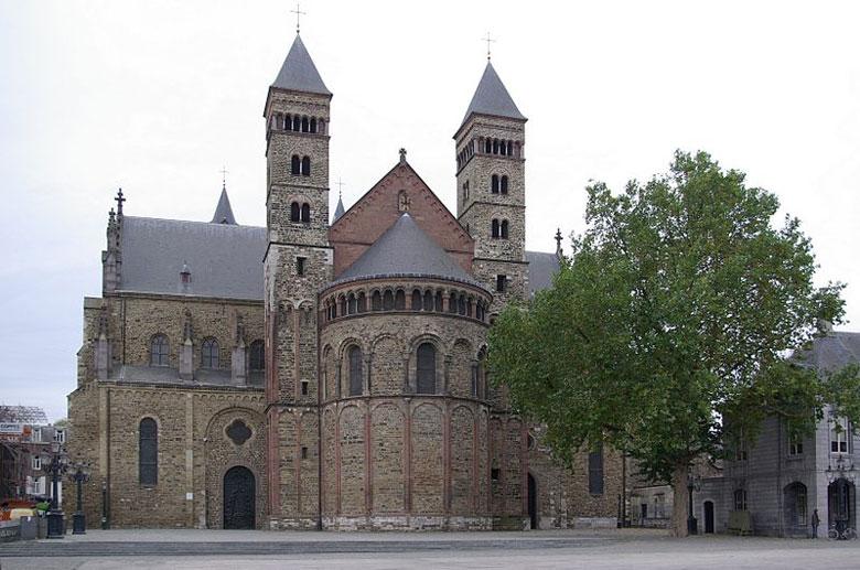 St.Servaas Basilika in Maastricht, Limburg
