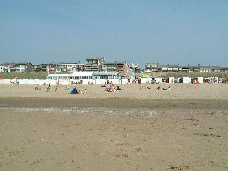Strand von Katwijk, Südholland