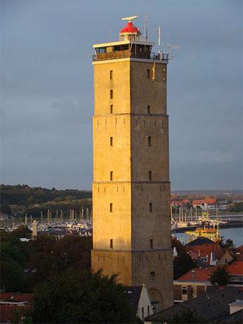 Leuchtturm auf Terschelling, Niederländische Inseln