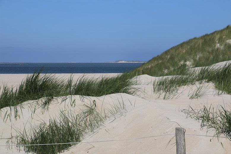 Strand auf der Insel Texel, Niederlande