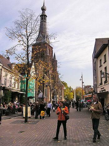 Tilburg in Nordbrabant
