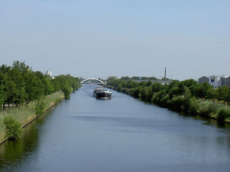 Twentekanal bei Enschede, Overijssel