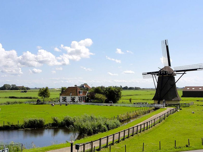 Urlaub in Friesland, Holland