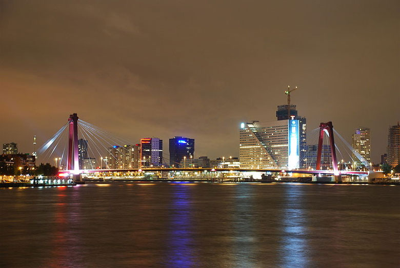 Urlaub in Rotterdam, Holland