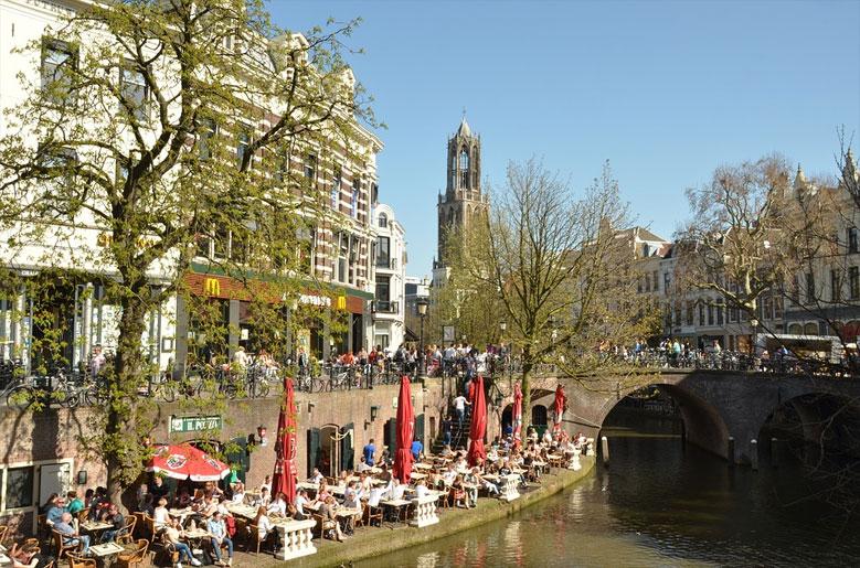 Urlaub in Utrecht, Holland