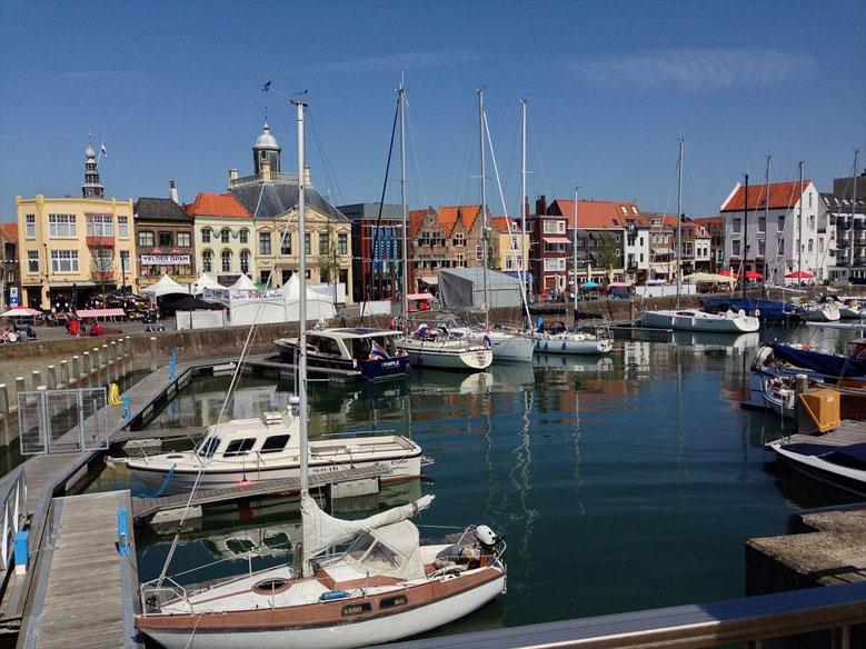 Hafen von Vlissingen, Zeeland