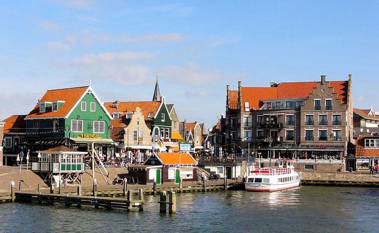 Volendam am Ijsselmeer, Nordholland
