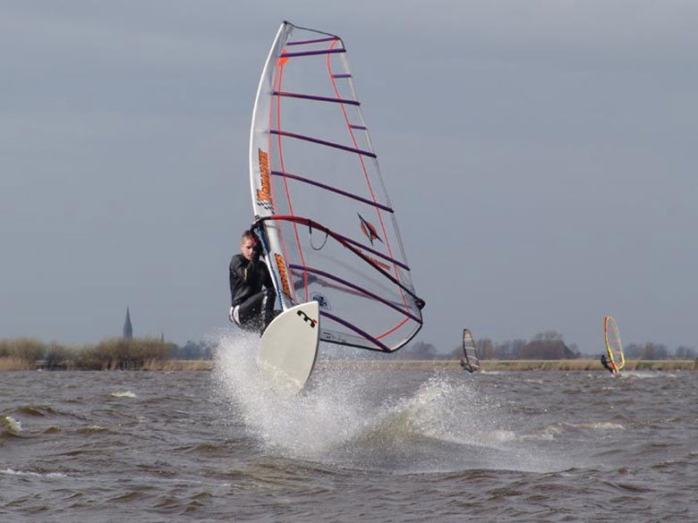 Windsurfen in Holland
