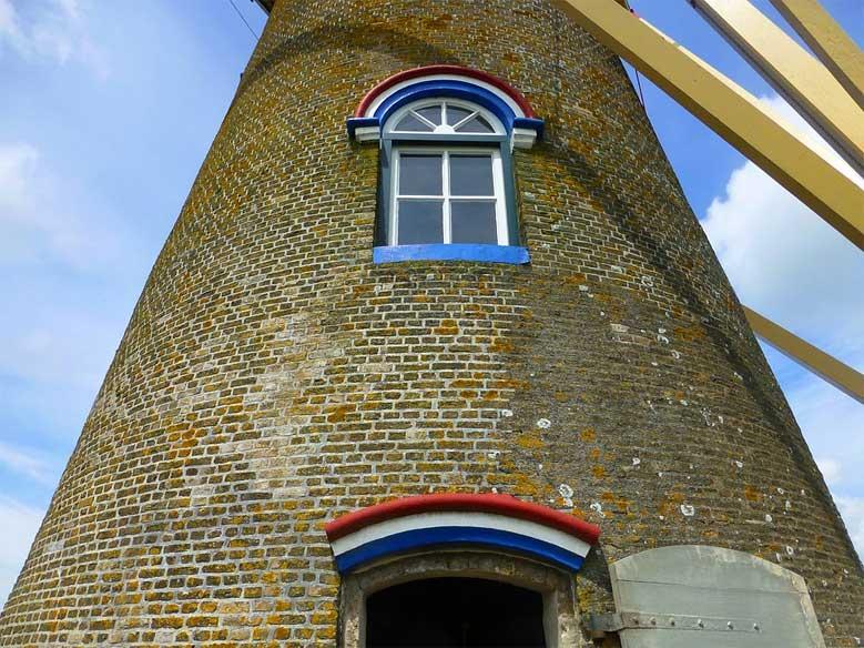 Holländer Windmühle in Wissenkerke