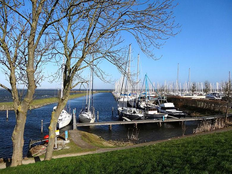 Yachthafen von Andijk, Ijsselmeer/Nordholland