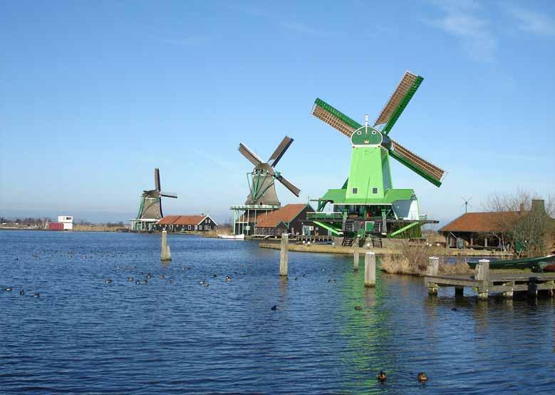 Windmühlen in Zaandam, Zaanstad