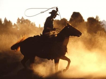 Cowboy Stuntshow, Freizeitpark Slagharen