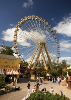 Riesenrad Freizeitpark Slagharen